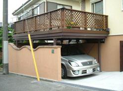 住宅の高さと車の高さを加味しながら。