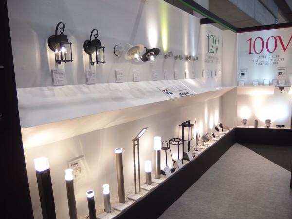 タカショー社 LED照明器具12Vと100V