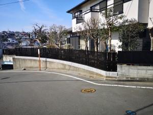 ブロック塀改善事業例 横浜市青葉区