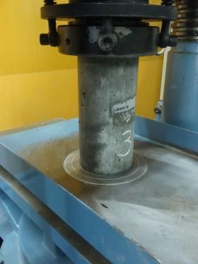 コンクリート圧縮強度試験