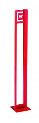 ドッグステイSS 赤 美濃クラフト
