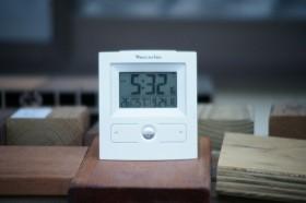 デッキの温度計測