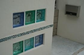 ガラスブロック 横浜