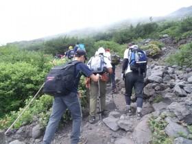 富士登山6合目