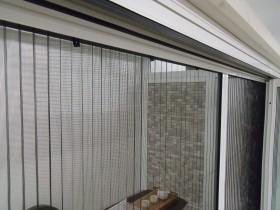 ガーデンルームの網戸