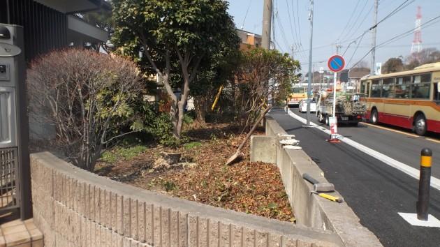 横浜市H様邸 擁壁工事