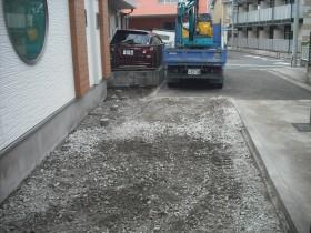 駐車場路盤