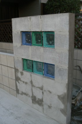ガラスブロック スペインガラス