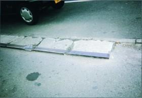 コンクリート製スロープ