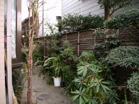 工事前の庭