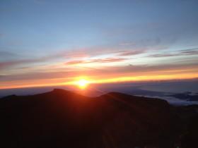 富士山ご来光